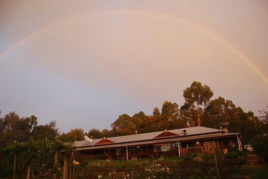 Craythorne Country House: Rainbow over Craythorne House
