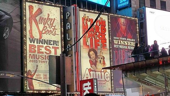 Kinky Boots on Broadway: Billboard