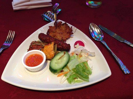 New Fort Raj: Mixed Platter Starter