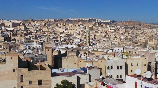 Riad Ibn Khaldoun : View from the terrace