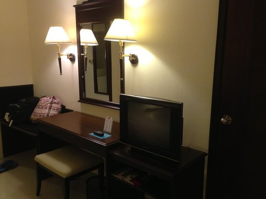 Mercure Chiang Mai: 真的是還在用CRT的四星級飯店