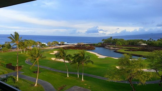 Fairmont Orchid, Hawaii: view from my balcony