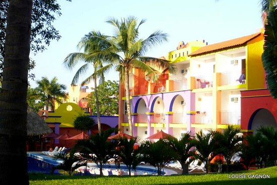 Royal Decameron Complex: from room section 5 ground floor