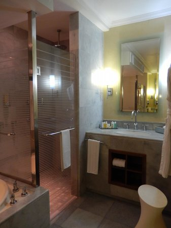 Iberostar Grand Rose Hall : bathroom with rain showerhead