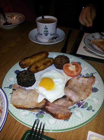 Augusta Lodge : Irish breakfast