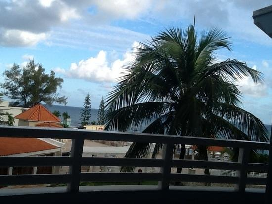 Beaches Ocho Rios Resort & Golf Club : our view for coffee every morning