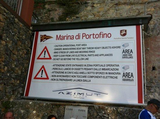 Outdoor Portofino: Marina