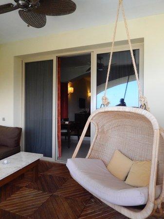 Iberostar Grand Hotel Rose Hall : swing on the balcony
