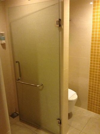 Cititel Express Kota Kinabalu : showe was fine-no problems with it