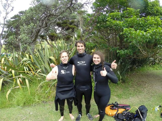 Goat Island Dive & Snorkel : Try Divers