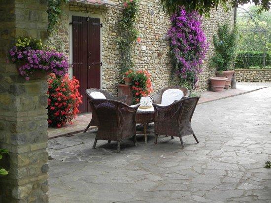 Villa Le Torri: relax area