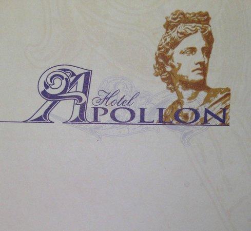 Apollon Hotel: Hotel Logo