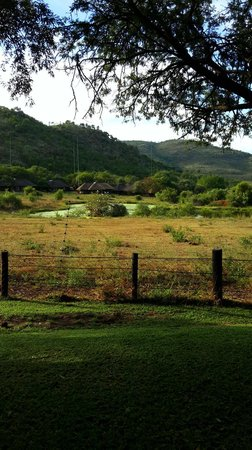 Bakubung Bush Lodge : Area in front of hotel