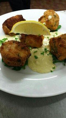 Cross Keys Restaurant: Monk Fish Scampi