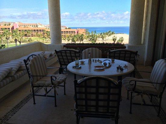 Las Ventanas al Paraiso, A Rosewood Resort: Our patio