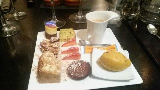 Café Sud : Le café gourmand excellent