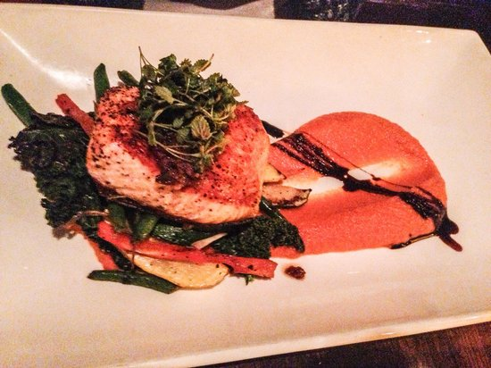The Good Fork: This place has seafood that is so fresh u can enjoy a whole set for dinner. Grilled salmon. The