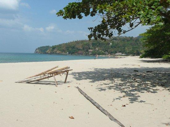 Ao Mai Phai (Bamboo Bay): looking north to Bamboo Bay village
