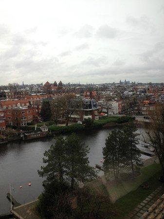 Hilton Amsterdam: View