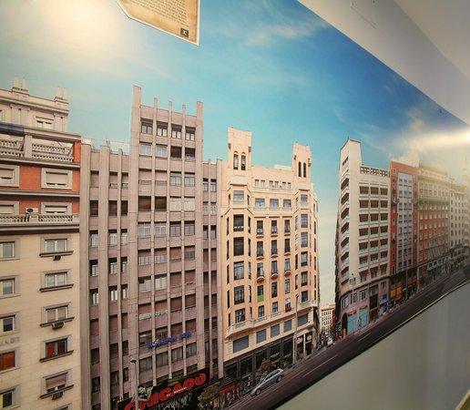 JC Rooms Puerta del Sol: Gran Via en los pasillos