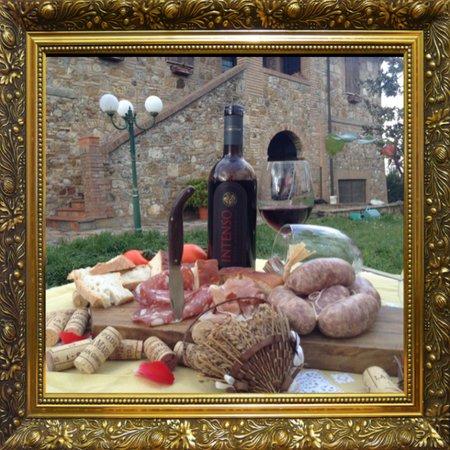 Podere La Marronaia Agriturismo: marronaia wine tastings