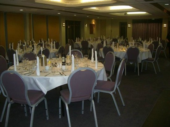 The Tytherington Club: Tables ready for our wedding reception