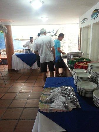 Hotel Playa Club: Завтрак