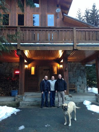 Alpine Lodge Hostel: Cheers, Jeff!