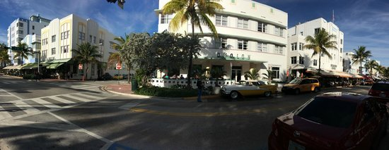 Avalon Hotel in the morning 2