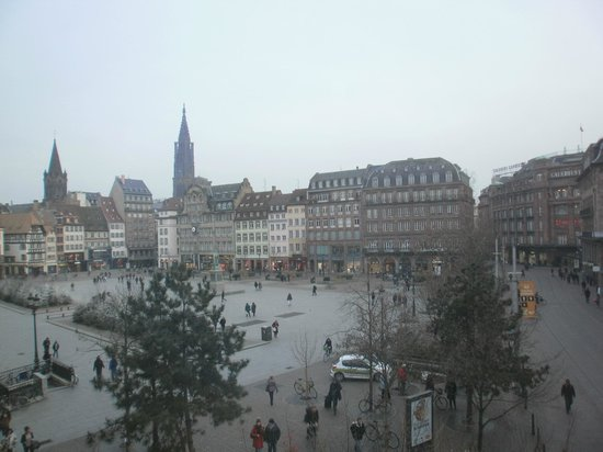 Le Kleber Hotel : view from the room