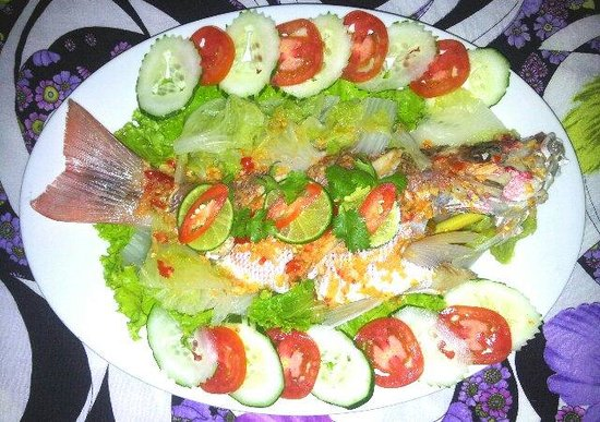 My Friend Thai Restaurant: Steamed Fish with Lime