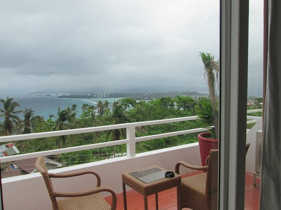 Tanawin Resort and Luxury Apartments: View from my suit