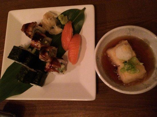 Etsu Japanese Restaurant : sushi