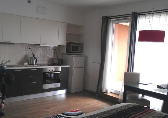 Fraser Residence Budapest: Кухня