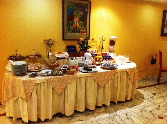 Hotel Dimora Adriana: la colazione con prodotti di marca