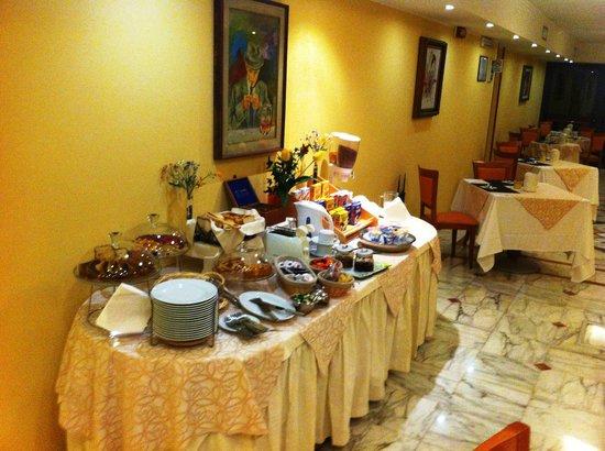 Hotel Dimora Adriana: la colazione