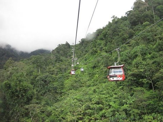 Genting Highlands Theme Park: Genting Skyway