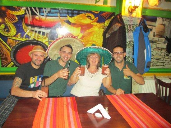 Mamacita's: Fun staff