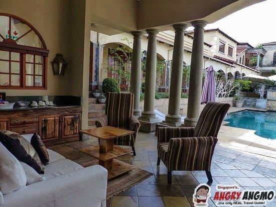 La Villa Vita Nelspruit: Lounge
