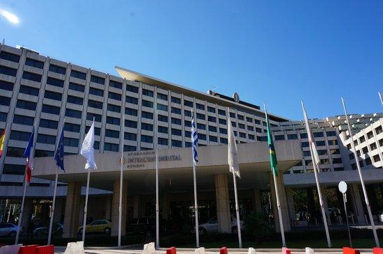 InterContinental Athenaeum: Hotel building