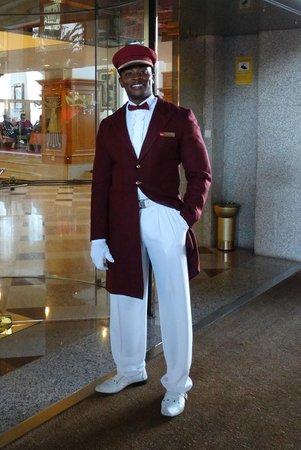 Hotel Riu Palace Maspalomas: Doorman Adam