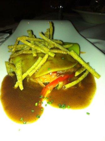 Balthazar: Lasanya verduras + pato