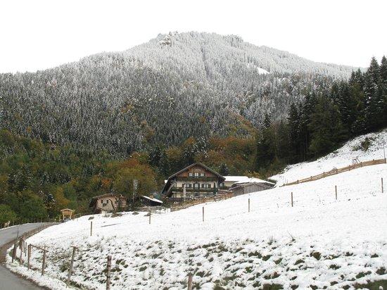 Duftbrau: Früher Wintereinbruch auf dem Samerberg, 11.10.13