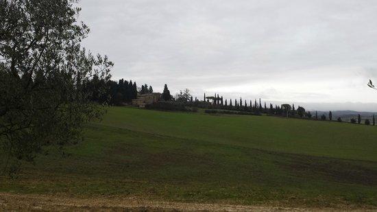La Rotonda in Chianti: panorama ingresso
