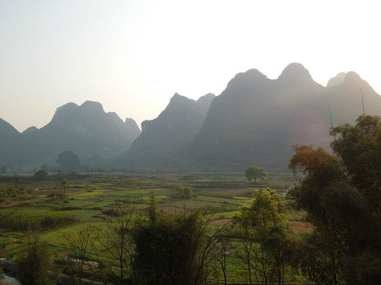 Yangshuo Tea Cozy: The views are pretty spectacular.