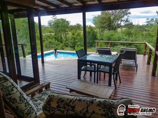 Idube Game Reserve Lodge: Private Terrace Makubela Suite 1
