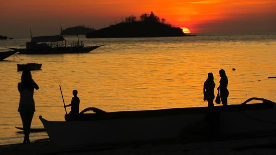 Hippocampus Beach Resort : wonderful sunset
