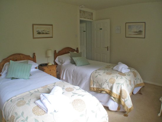 Bridge House Bed and Breakfast: The twin room