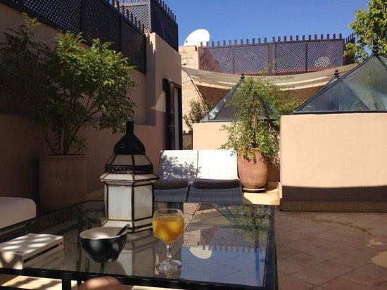 Riad L'Empire : terrace