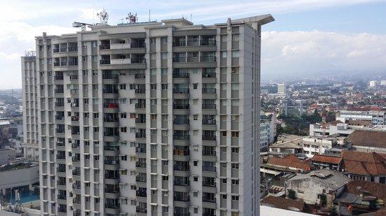 Gino Feruci Braga Hotel: view from hotel